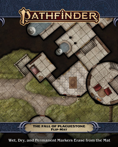 Pathfinder (P2): Pathfinder Flip-Mat - The Fall of Plaguestone