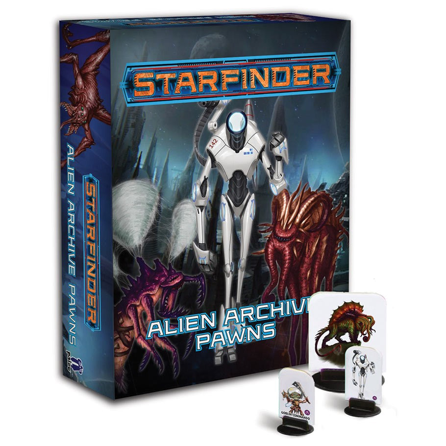 Starfinder Pawns: Alien Archive Pawn Collection