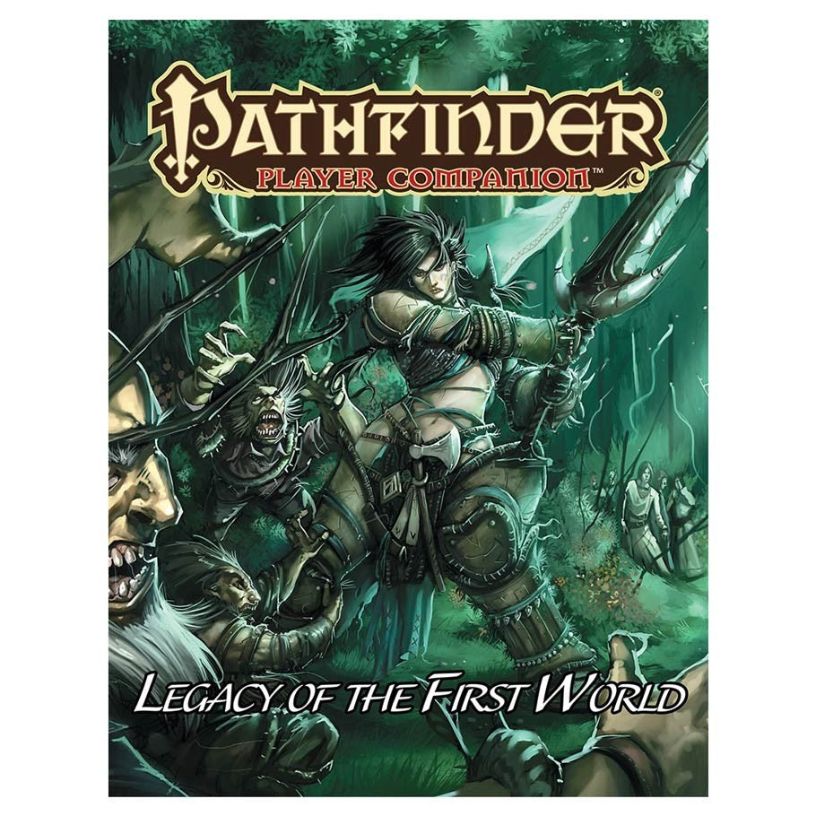 Pathfinder Player Companion: Legacy of the First World