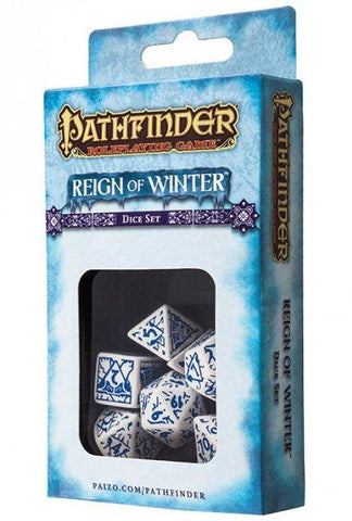 Pathfinder: Reign of Winter Dice Set
