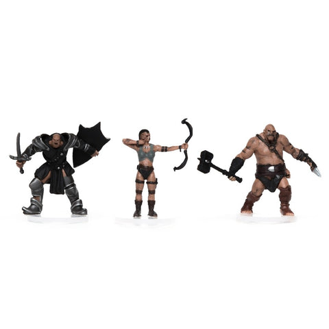 Characters of Adventure: Orcs 3-Set: Set B