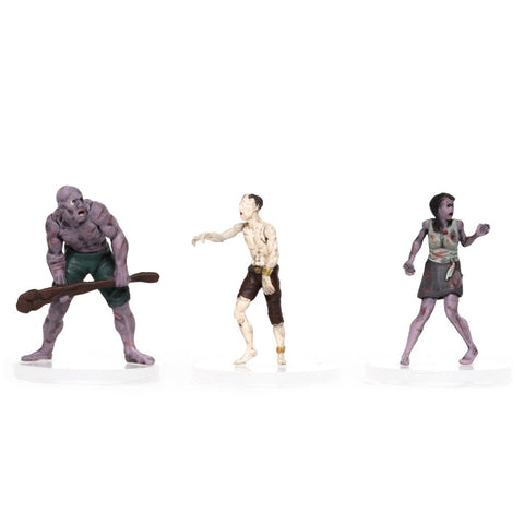 Characters of Adventure: Zombies 3-Set: Set B