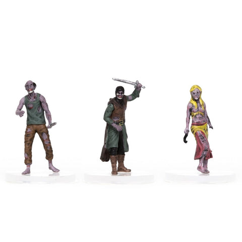 Characters of Adventure: Zombies 3-Set: Set C