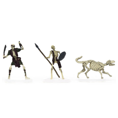 Characters of Adventure: Skeletons 3-Set: Set B