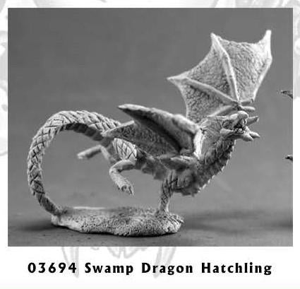 Dark Heaven Legends: Swamp Dragon Hatchling