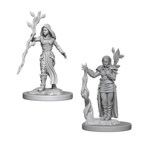 Dungeons & Dragons: Nolzur's Marvelous Unpainted Miniatures: Human Female Druid