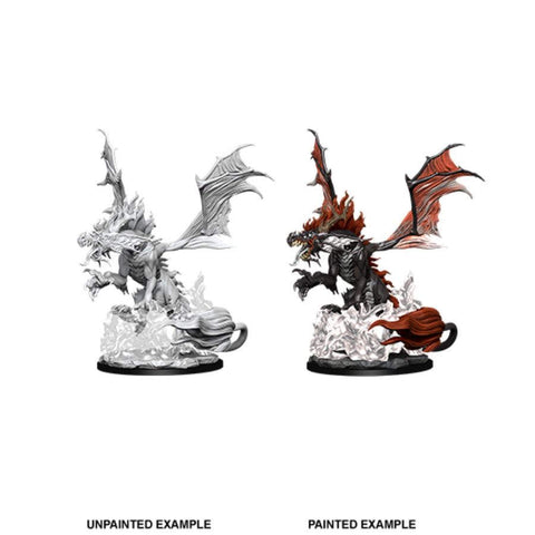 Pathfinder Battles Deep Cuts Unpainted Miniatures: Nightmare Dragon