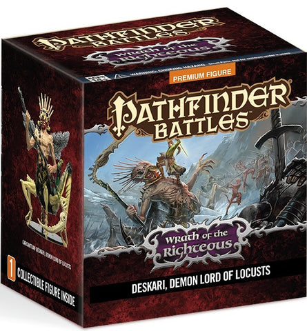 Pathfinder Battles: Wrath of the Righteous: Gargantuan Demon Lord Deskari