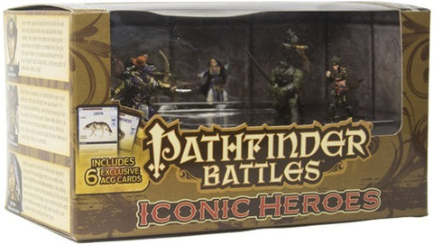 Pathfinder Battles Miniatures: Iconic Heroes Box Set V