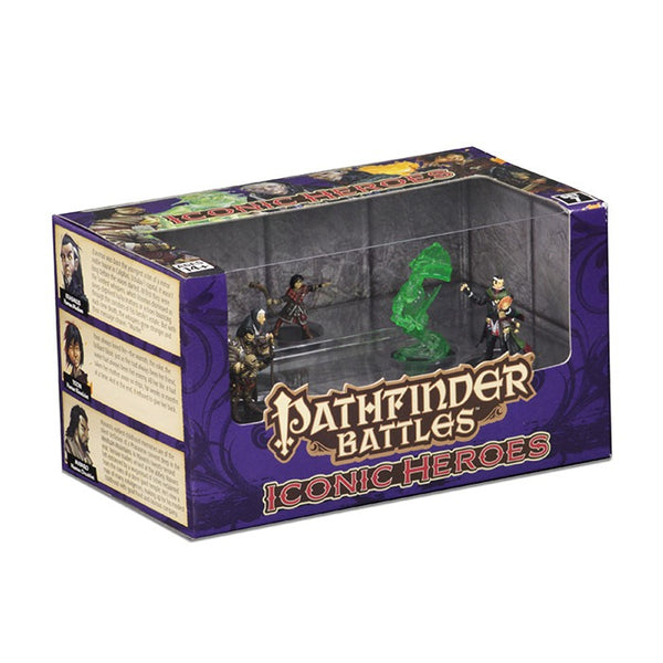 Pathfinder Battles Miniatures: Iconic Heroes Box Set VII