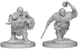 Dungeons & Dragons: Nolzur's Marvelous Unpainted Miniatures: Dwarf Female Fighter