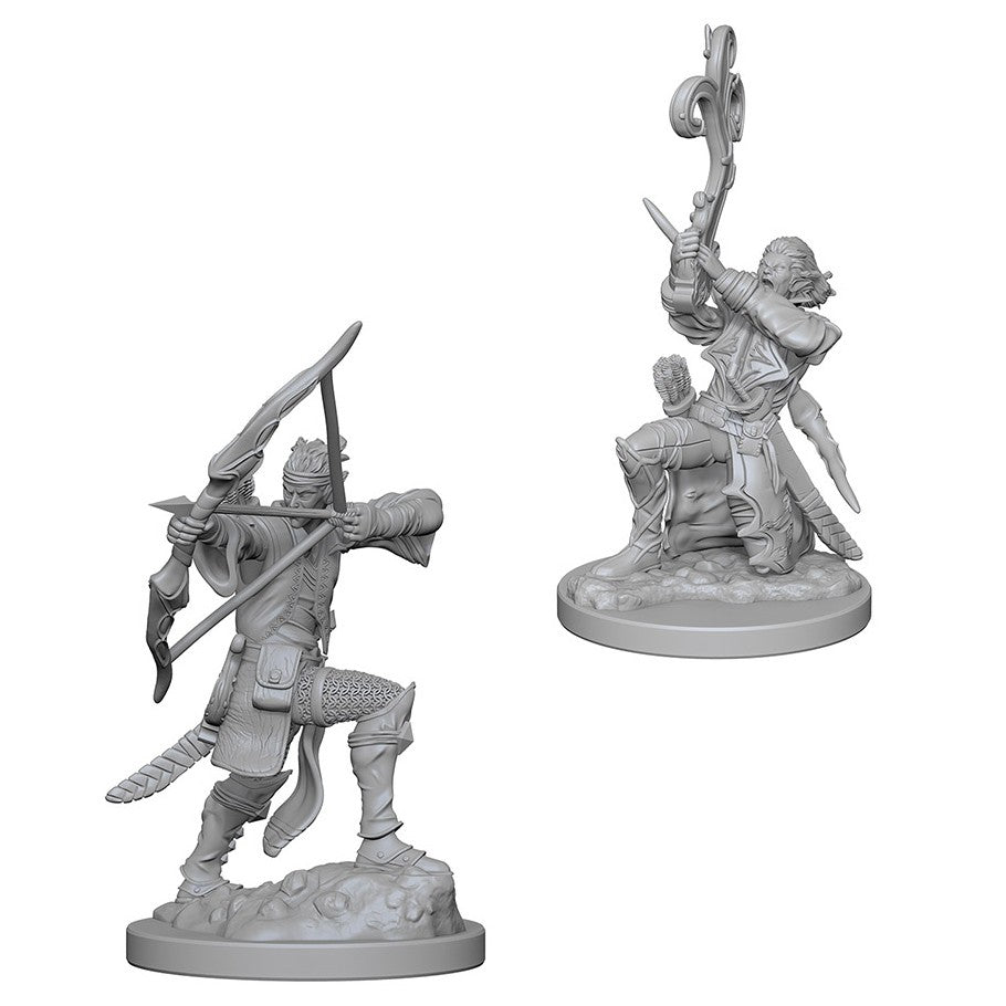 Dungeons & Dragons: Nolzur's Marvelous Unpainted Miniatures: Elf Male Bard
