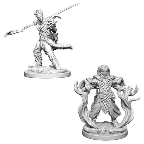 Dungeons & Dragons: Nolzur's Marvelous Unpainted Miniatures: Human Male Druid (2017)