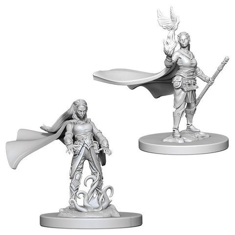 Dungeons & Dragons: Nolzur's Marvelous Unpainted Miniatures: Elf Female Druid