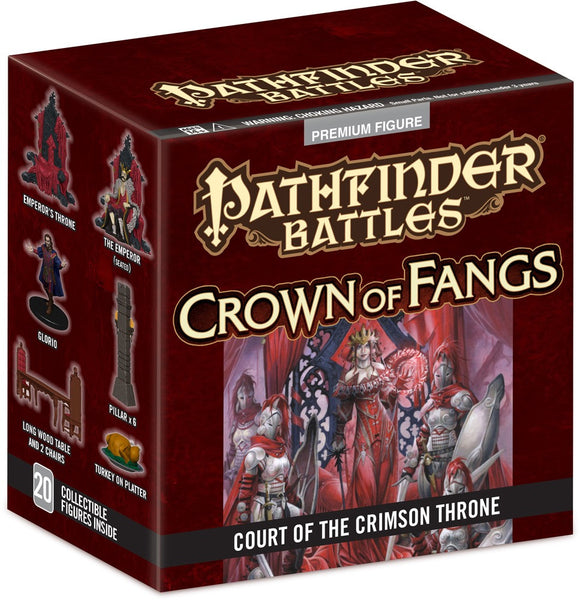 Pathfinder Battles: Crown of Fangs: Court of the Crimson Throne