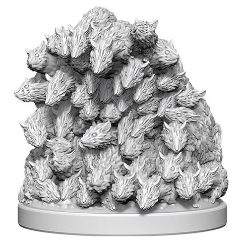WizKids Deep Cuts Unpainted Miniatures: Swarm of Rats