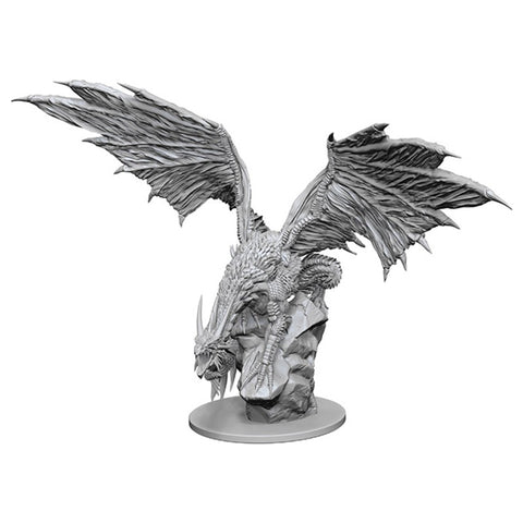 Pathfinder Deep Cuts Unpainted Miniatures: Silver Dragon