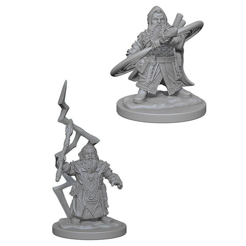 Pathfinder Deep Cuts Unpainted Miniatures: Dwarf Male Sorcerer