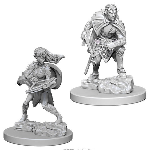 Dungeons & Dragons: Nolzur's Marvelous Unpainted Miniatures: Drow