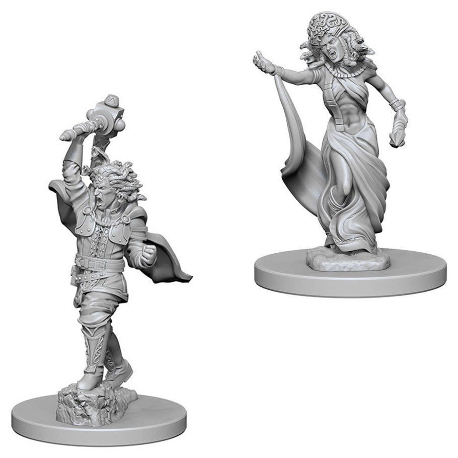Dungeons & Dragons: Nolzur's Marvelous Unpainted Miniatures: Medusas