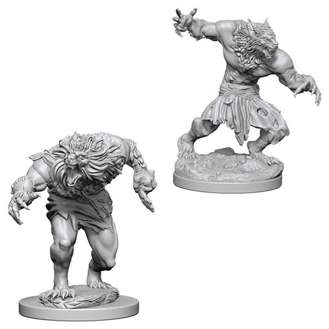Dungeons & Dragons: Nolzur's Marvelous Unpainted Miniatures: Werewolves