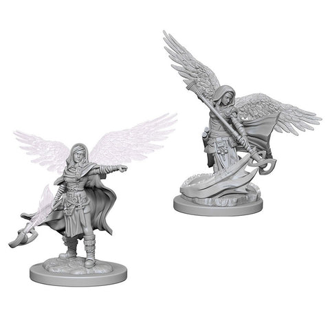 Dungeons & Dragons: Nolzur's Marvelous Unpainted Miniatures: Aasimar Female Wizard