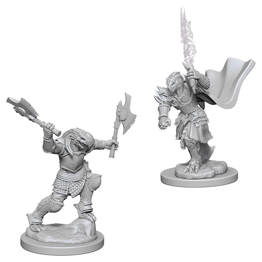 Dungeons & Dragons: Nolzur's Marvelous Unpainted Miniatures: Dragonborn Female Fighter