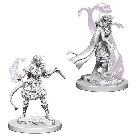 Dungeons & Dragons: Nolzur's Marvelous Unpainted Miniatures: Tiefling Female Sorcerer