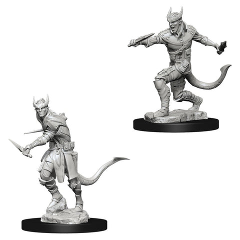 Dungeons & Dragons: Nolzur's Marvelous Unpainted Miniatures: Tiefling Male Rogue