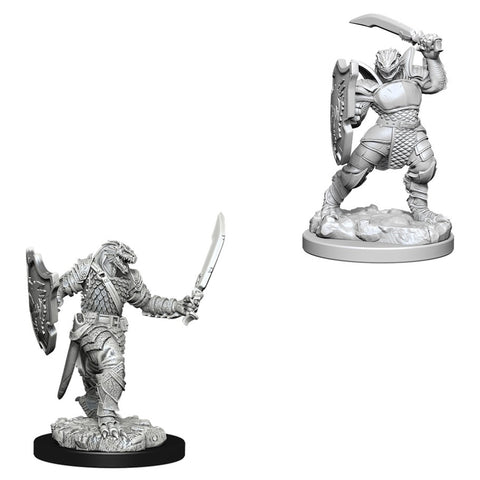 Dungeons & Dragons: Nolzur's Marvelous Unpainted Miniatures: Dragonborn Female Paladin