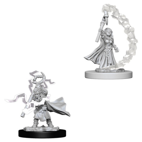 Pathfinder Deep Cuts Unpainted Miniatures: Gnome Female Sorcerer