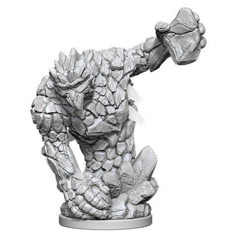 Pathfinder Deep Cuts Unpainted Miniatures: Medium Earth Elemental