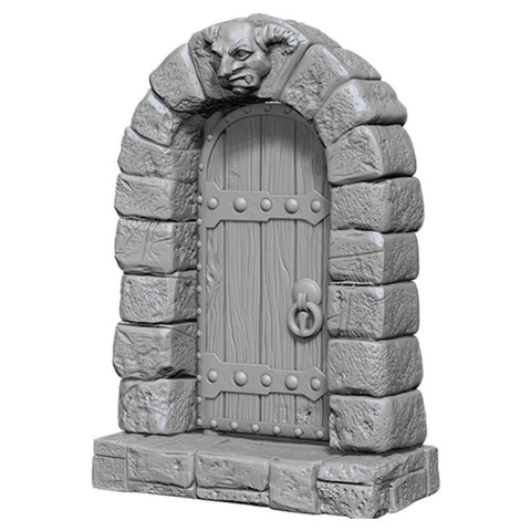 WizKids Deep Cuts Unpainted Miniatures: Doors