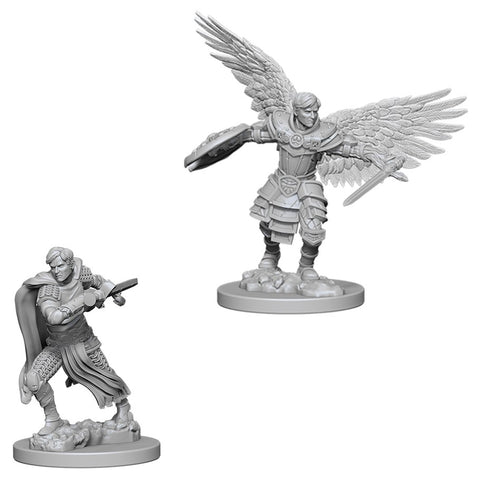 Dungeons & Dragons: Nolzur's Marvelous Unpainted Miniatures: Male Aasimar Fighter