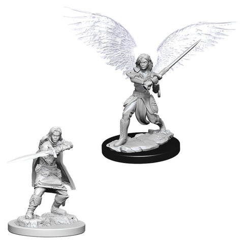 Dungeons & Dragons: Nolzur's Marvelous Unpainted Miniatures: Female Aasimar Fighter