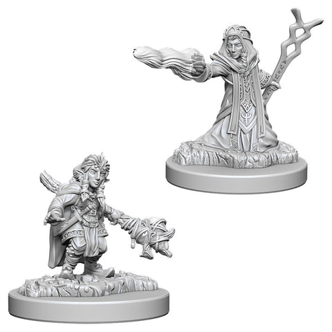 Dungeons & Dragons: Nolzur's Marvelous Unpainted Miniatures: Female Gnome Wizard