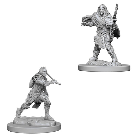 Dungeons & Dragons: Nolzur's Marvelous Unpainted Miniatures: Male Elf Fighter