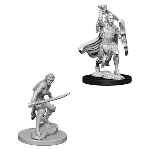 Dungeons & Dragons: Nolzur's Marvelous Unpainted Miniatures: Female Elf Fighter