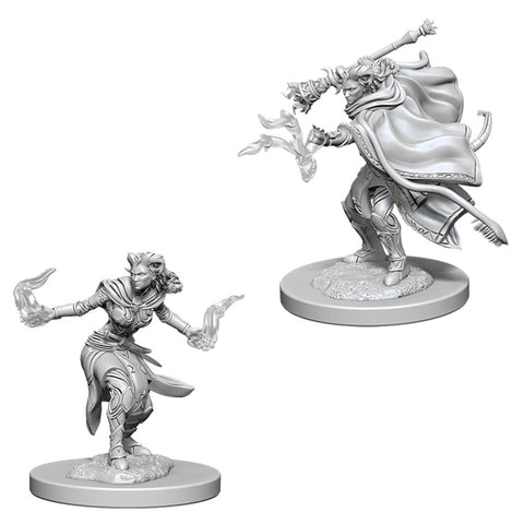 Dungeons & Dragons: Nolzur's Marvelous Unpainted Miniatures: Female Tiefling Warlock