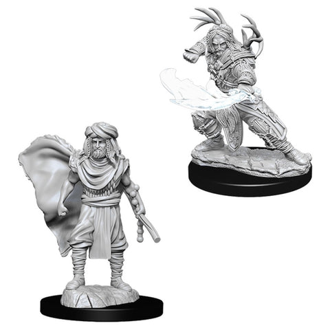 Dungeons & Dragons: Nolzur's Marvelous Unpainted Miniatures: Male Human Druid (2019)