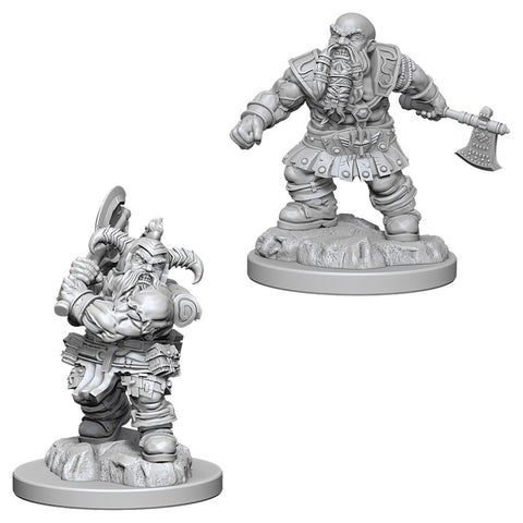 Dungeons & Dragons: Nolzur's Marvelous Unpainted Miniatures: Male Dwarf Barbarian