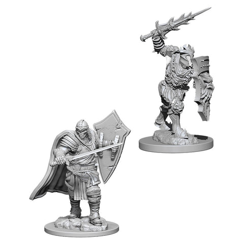 Dungeons & Dragons: Nolzur's Marvelous Unpainted Miniatures: Death Knight and Helmed Horror