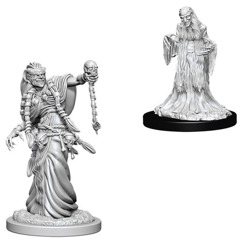 Dungeons & Dragons: Nolzur's Marvelous Unpainted Miniatures: Green Hag & Night Hag