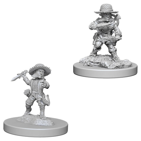 Pathfinder Deep Cuts Unpainted Miniatures: Male Halfling Rogue