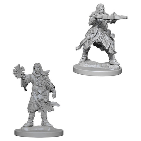 Pathfinder Deep Cuts Unpainted Miniatures: Male Human Wizard