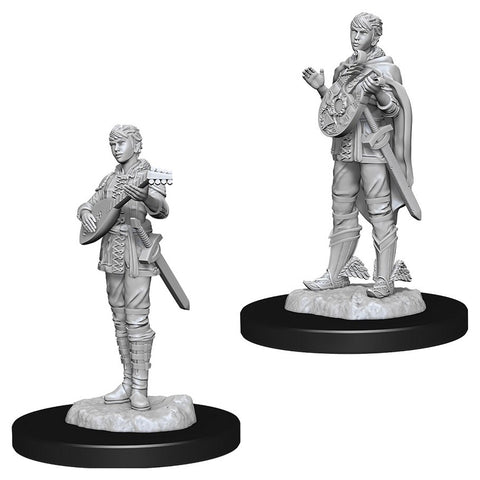 Dungeons & Dragons: Nolzur's Marvelous Unpainted Miniatures: Female Half-Elf Bard