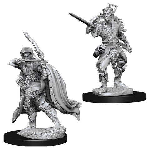 Dungeons & Dragons: Nolzur's Marvelous Unpainted Miniatures: Male Elf Rogue