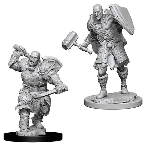 Dungeons & Dragons: Nolzur's Marvelous Unpainted Miniatures: Male Goliath Fighter