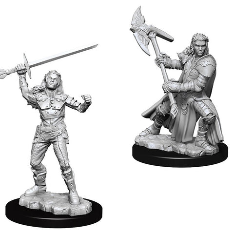 Dungeons & Dragons: Nolzur's Marvelous Unpainted Miniatures: Female Half-Orc Fighter