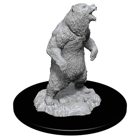 WizKids Deep Cuts Unpainted Miniatures: Grizzly